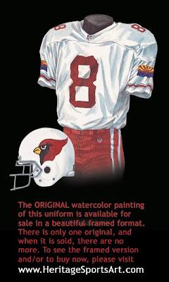 2001 Arizona Cardinals uniform