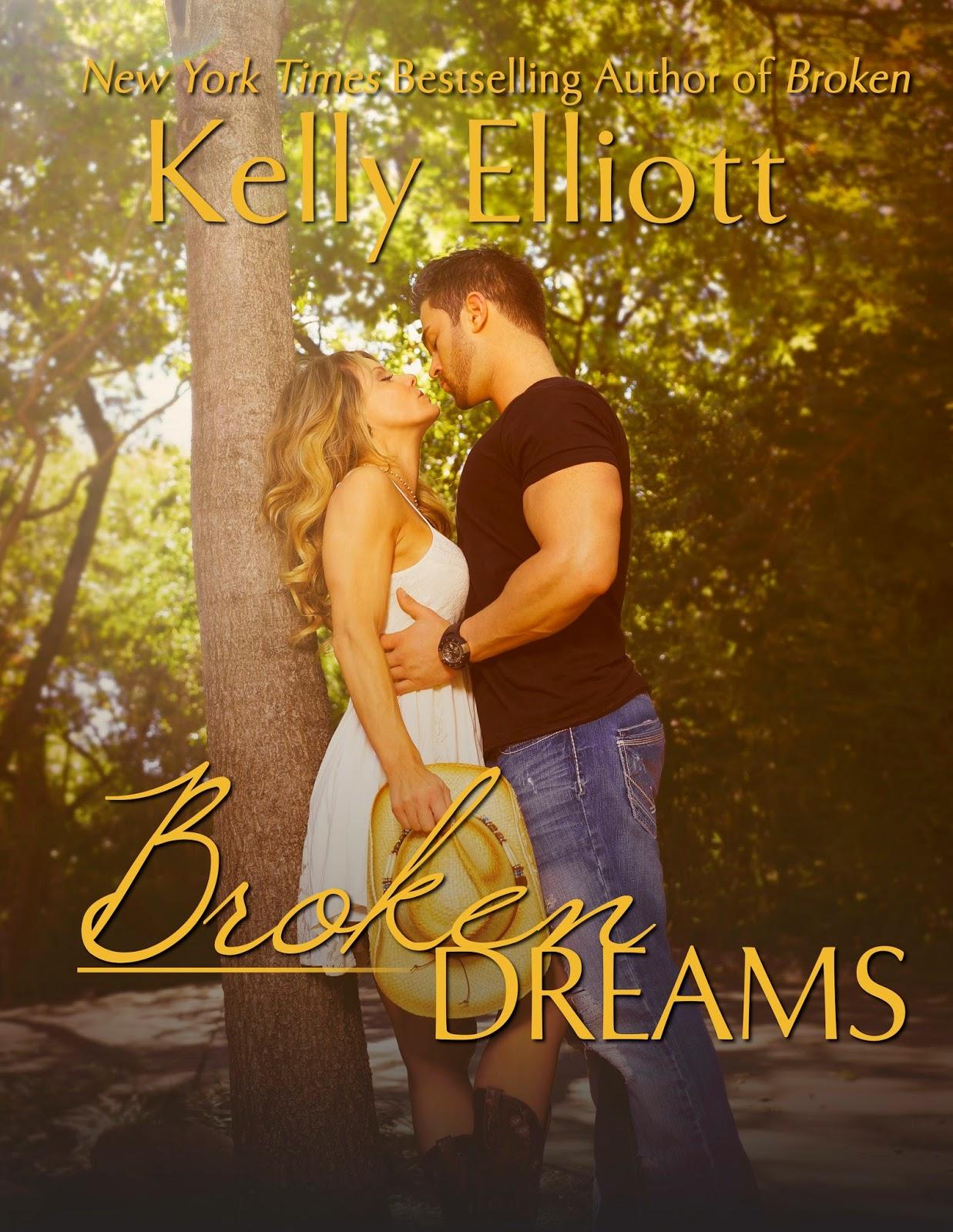 Cover Reveal for Broken Dreams by Kelly Elliott