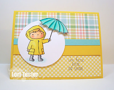 Rain or Shine card-designed by Lori Tecler/Inking Aloud-stamps from Mama Elephant