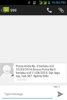 Pulsa Habis