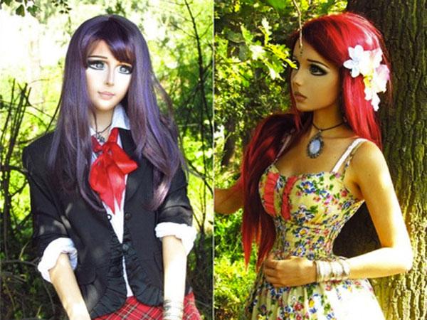 La Chica Anime es Real  Ukrania Dakota Rose - Kota Koti