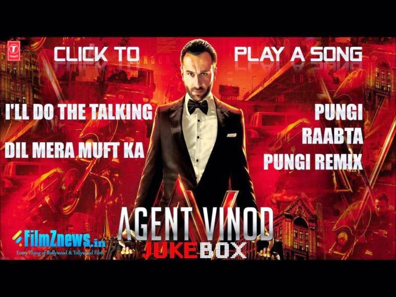 Agent Vinod (2012) Full Audio Songs - Jukebox