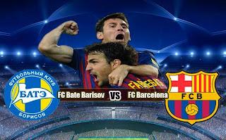 Partido Barcelona Vs BATE Borisov en Champions