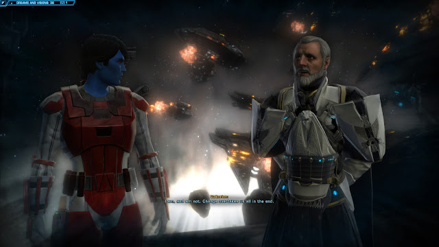 Star Wars The old republic Knights of the Fallen Empire, Chapter II valkorion dream
