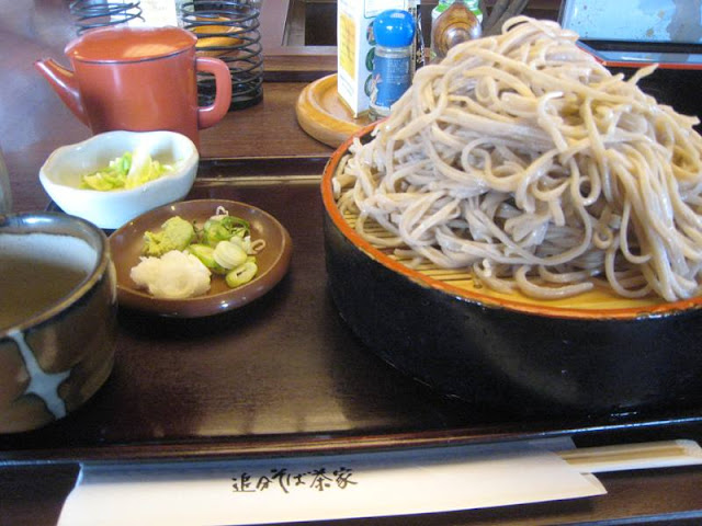 軽井沢の蕎麦