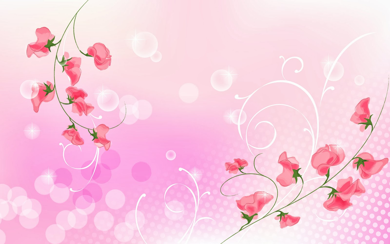 HD Wallpapers Desktop: Pink Background HD DeskTop Wallpapers