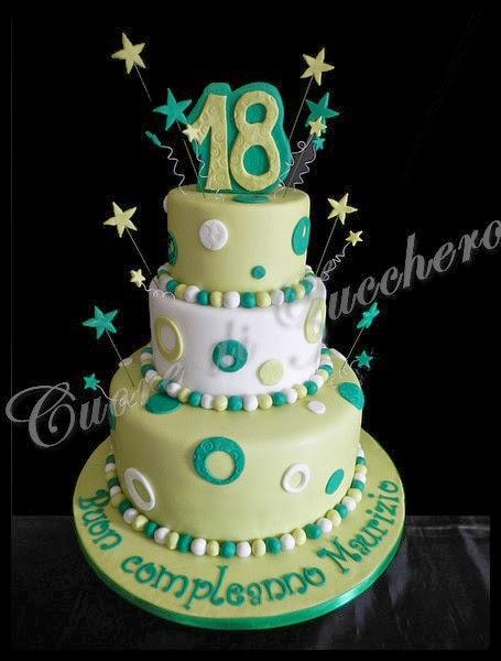 Cuore di zucchero i 18 anni di maurizio for Torte 18 anni ragazzo