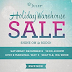 Don't miss Julep's Holiday Warehouse Sale