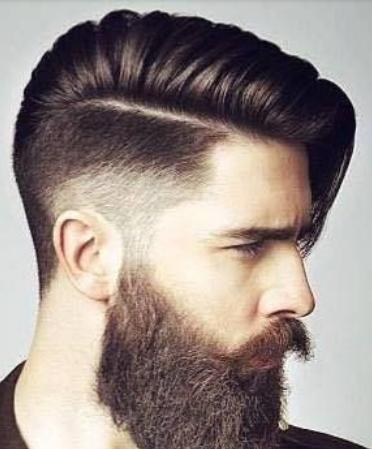 Model rambut skin cowok satu garis  style rambut