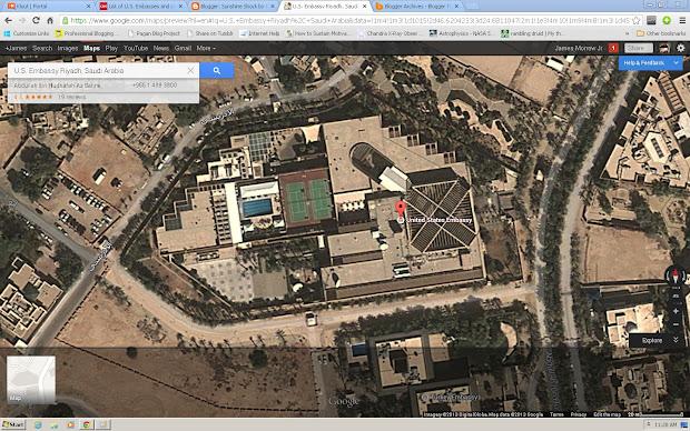 Map Of Us Embassy Closures - imgUrl