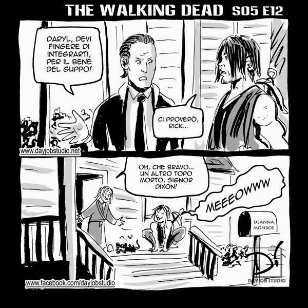 The Walking Dead 5x12 (Dayjob Studio)