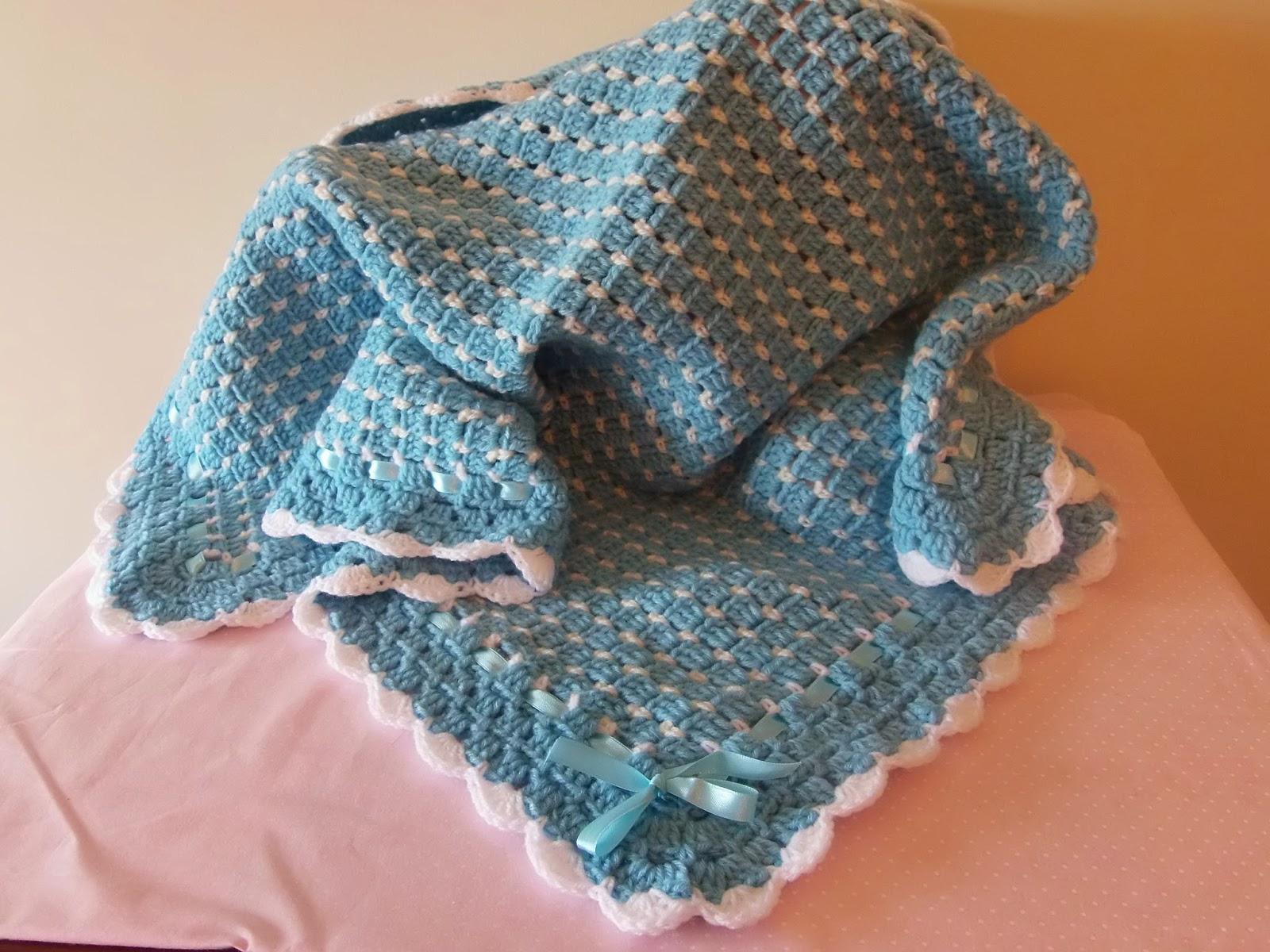 Magia de criar manta para beb em crochet - Manta de crochet facil ...