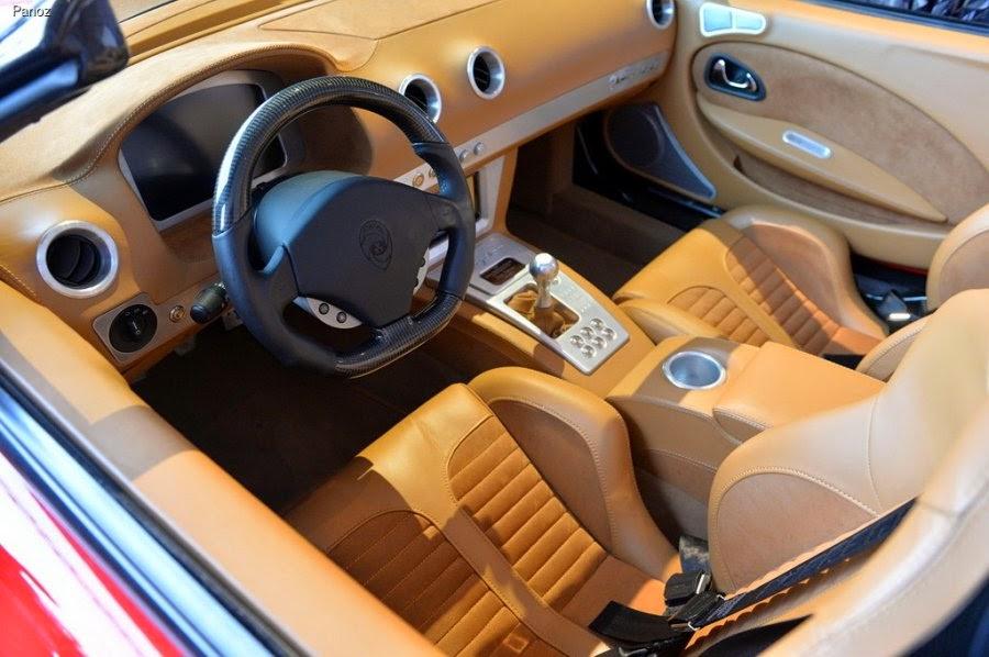 Roadster Panoz Esperante 2016 interior