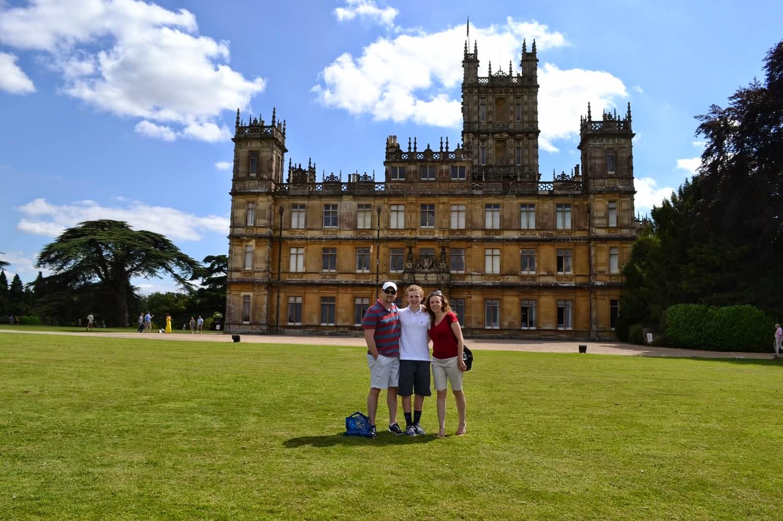 Steve, Angela, Jack Wheeler, England 2014