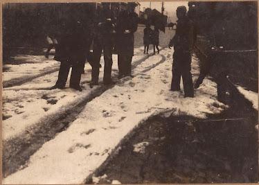 NEVE EM 1932 PROXIMO A IGREJA DO ROSARIO NA XV DE NOVEMBRO