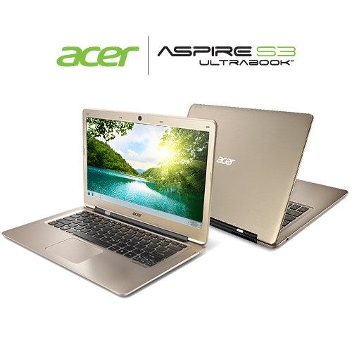 acer aspire s3 391 53314g52add ultrabook windows 7 review. Black Bedroom Furniture Sets. Home Design Ideas