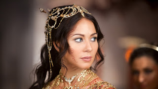 Beautiful Lynn Collins with Bride Costume  John Carter Movie HD Desktop Wallpaper