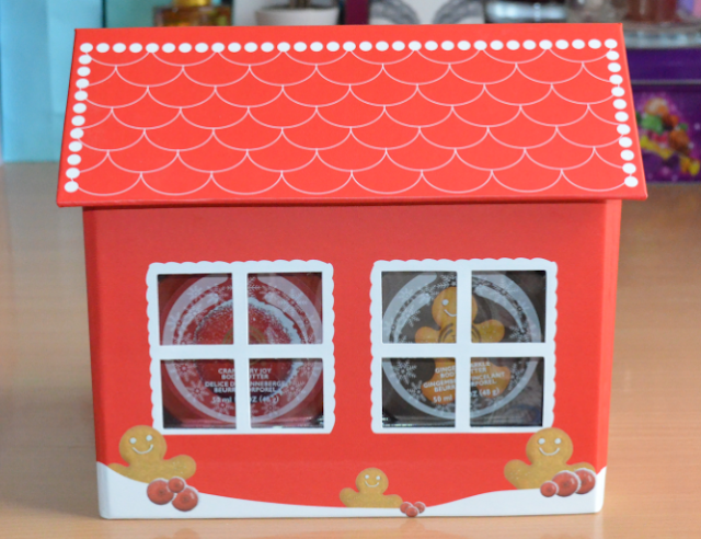 The Body Shop joyful gingerbread house
