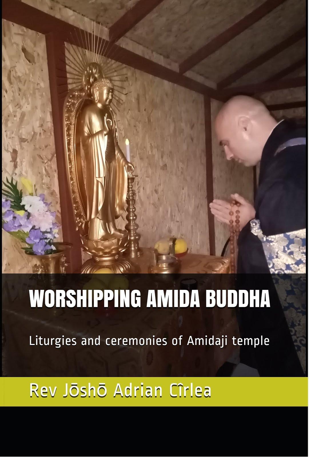 Worshipping Amida Buddha