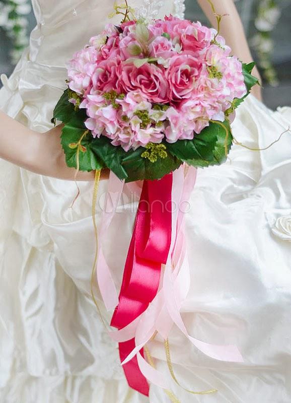 China Wholesale Dresses - Wedding Bouquets - for brides 2014