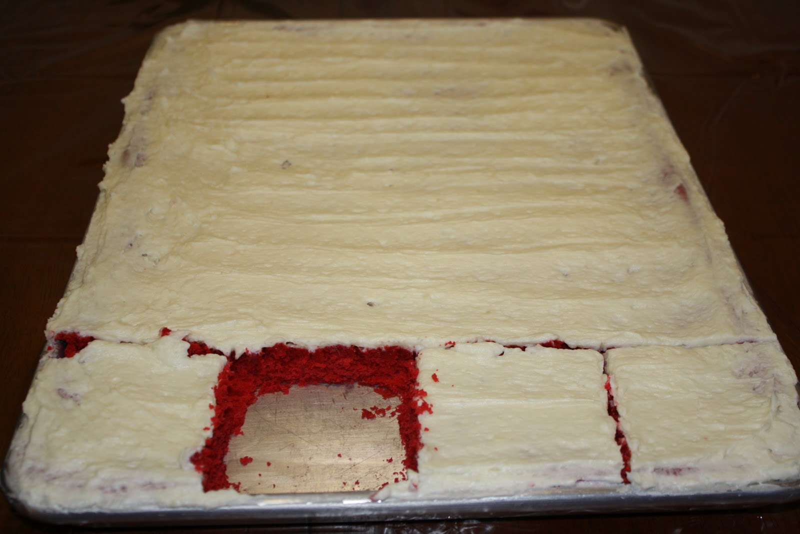 Adventures Of A Wanna Be Country Girl: Red Velvet Sheet Cake