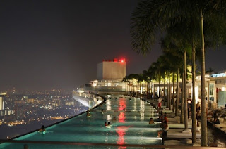 The Best Blog Ever Travel the world RTW- Family Travel Marina Bay Sands pool Casino In Singapore