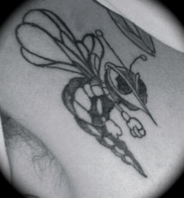 Best Bee Tattoos Design-Animal Tattoos