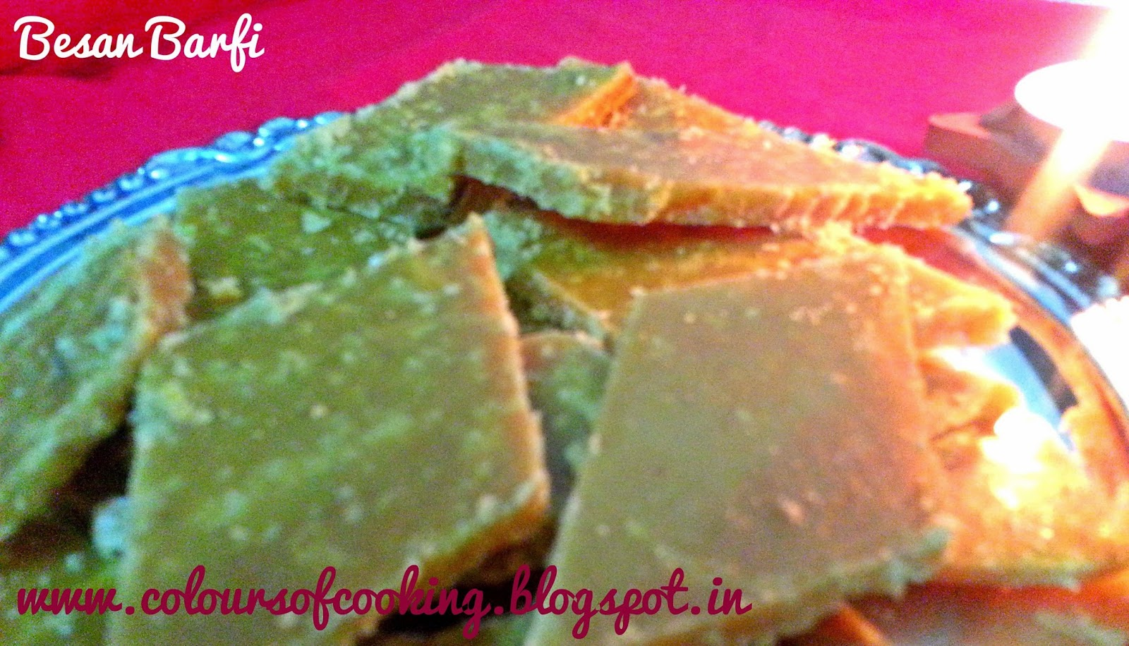 how to prepare besan ki barfi