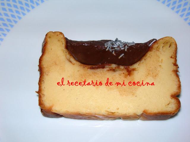 pastel de leche y canela