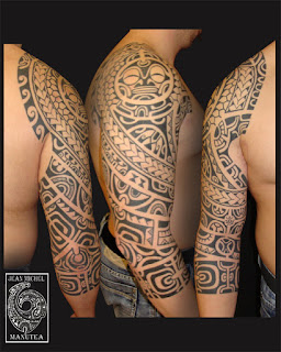 Polynesian on Polynesian Tattoo And Art  January 2013