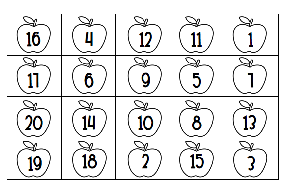 Number Recognition Worksheets 1 20 Free Worksheets Library – Number Recognition Worksheets