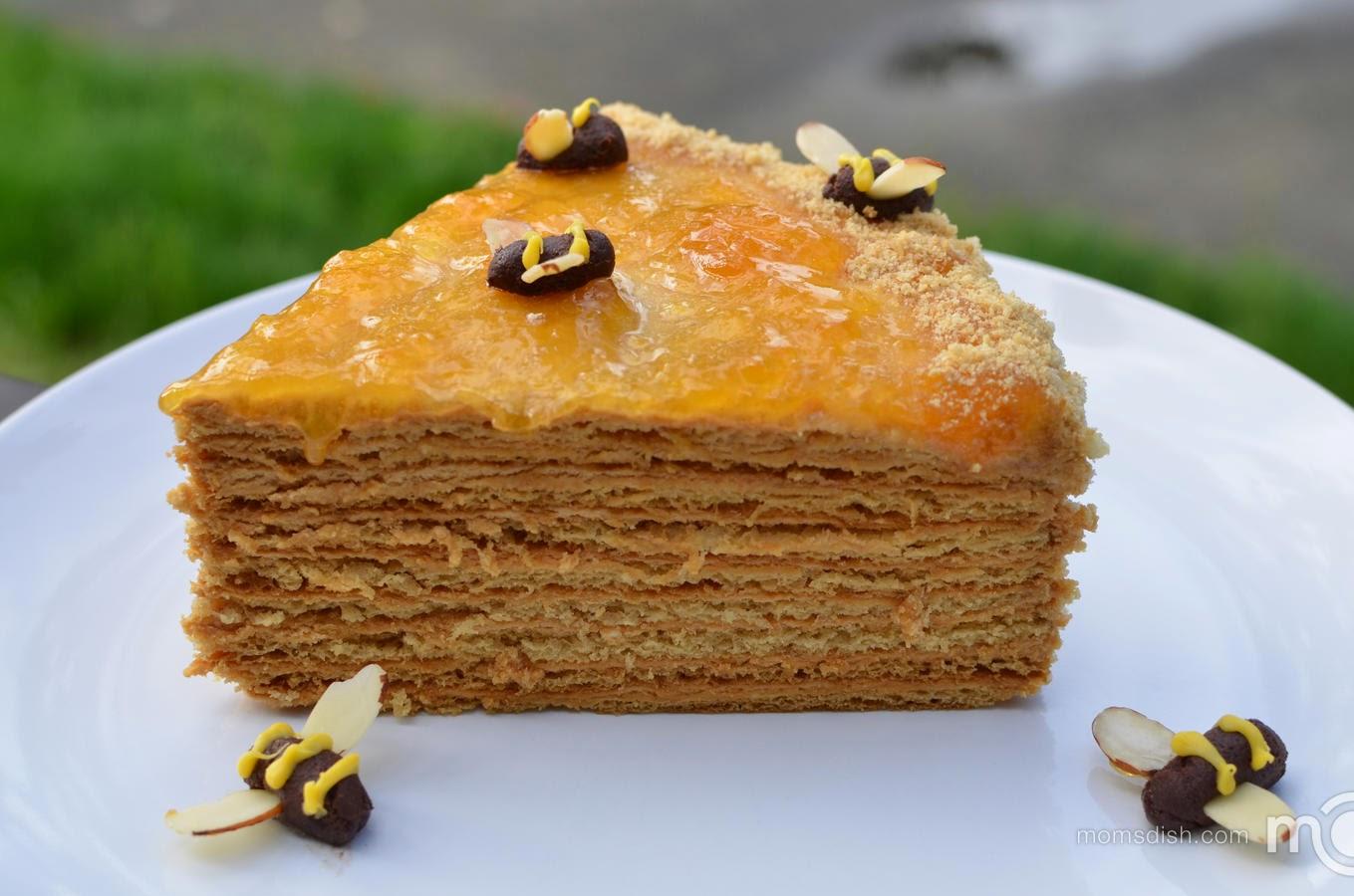 http://momsdish.com/recipe/101/russian-honey-cake
