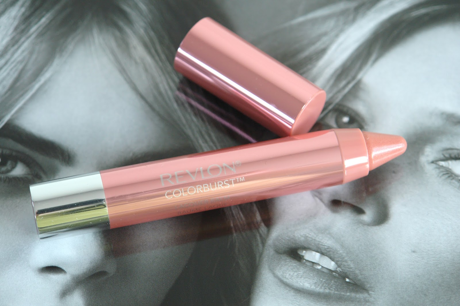 Revlon Colorburst Lacquer Balm in Demure, beauty, lip gloss, lipstick, make up, review, Revlon, review, swatches, UK blog, blogger