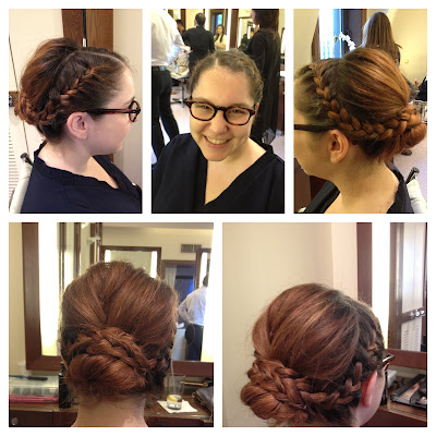 John Barrett Salon, John Barrett, John Barrett Braid Bar, braid, braiding, hair braiding, braided updo, milkmaid braids, Salon and Spa Directory