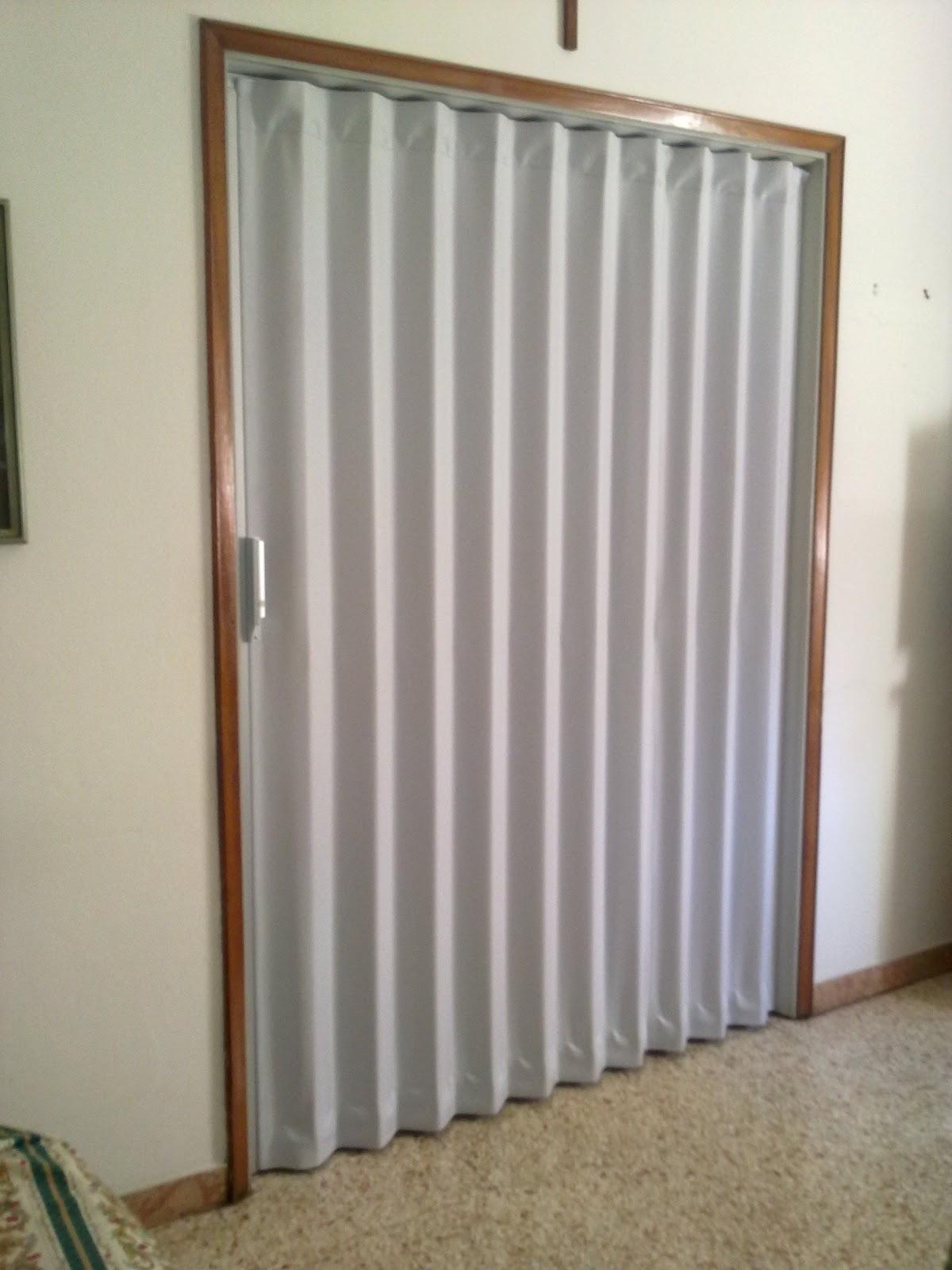 Porte a soffietto: porta a soffietto per separare cucina e salotto