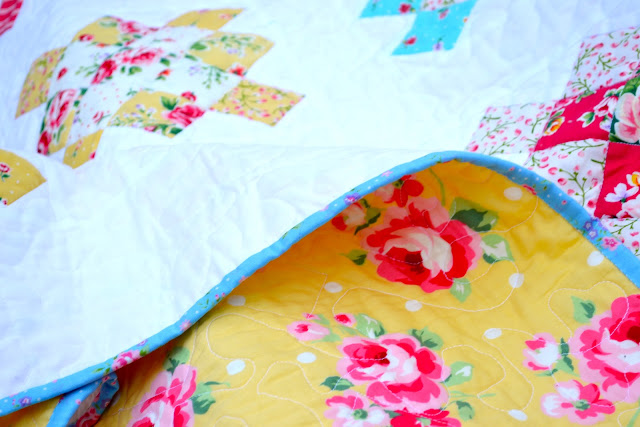 Lecien Flower Sugar Quilt