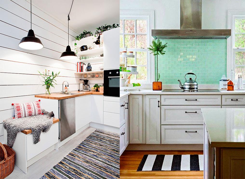 Inspiraci n cocinas con toques n rdicos decoratualma - Cocinas nordicas ...