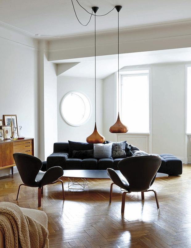 la casa de la directora creativa de h m home en estocolmo etxekodeco. Black Bedroom Furniture Sets. Home Design Ideas