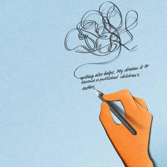 eiko ojala ilustração cortes de papel Prevention