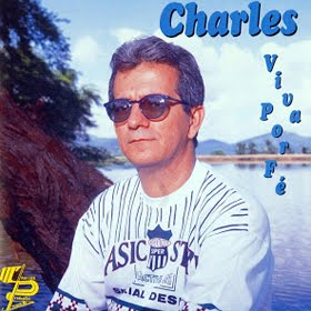 "Capa do CD ""Viva Por Fé"" do cantor Charles Meira"
