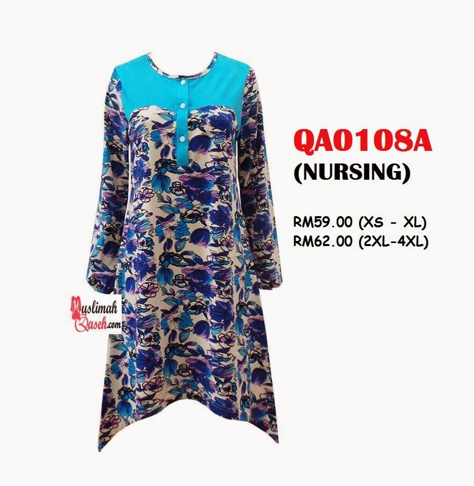 T-Shirt-Muslimah-Qaseh-QA0108A