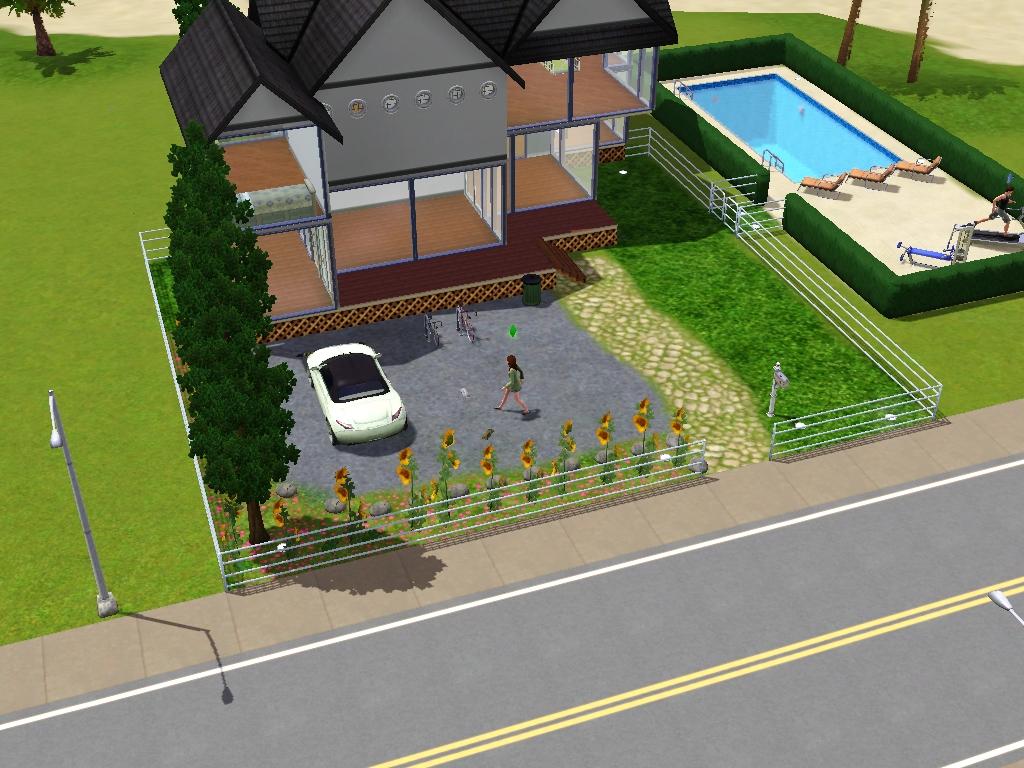 Desain rumah di the sims 3 & FREEZE WINTER: Desain rumah di the sims 3