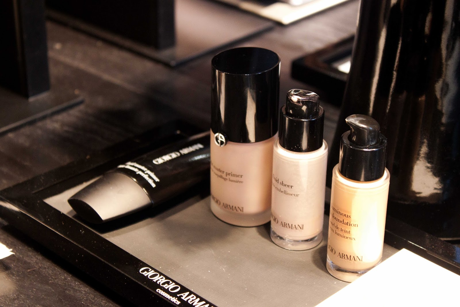 Discover What's New From Armani!