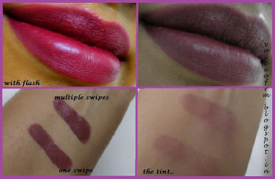 Colorbar Full Finish Long Wear Lipstick in Plum Show swatch