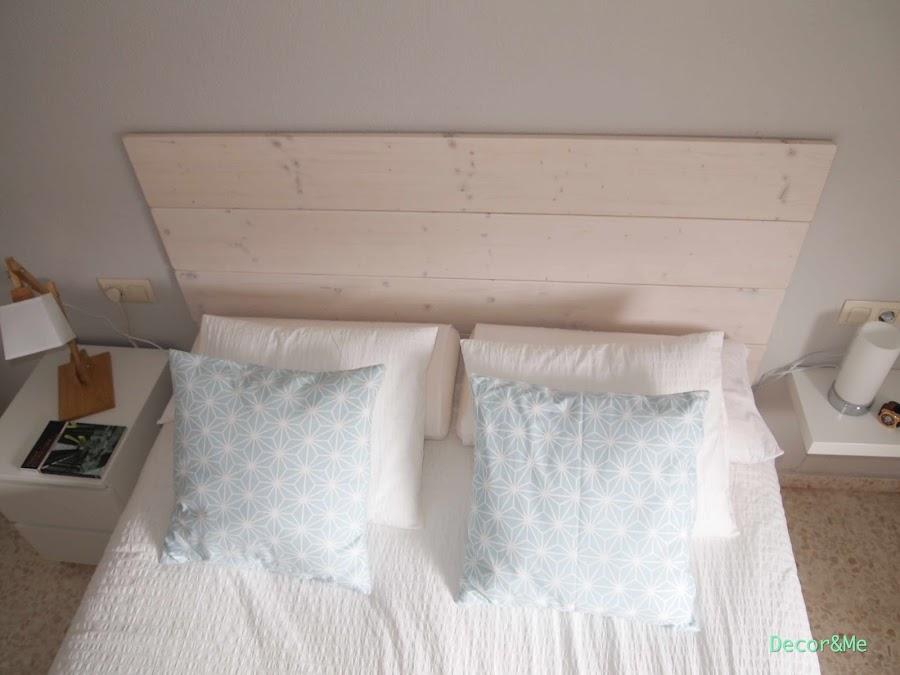 El antes y despu s de mi dormitorio decoraci n - Tablones de madera leroy merlin ...
