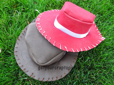 DIY Foam Cowboy Hats