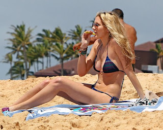 Stephanie Pratt, 26th birthday, Stephanie Pratt bikini, Hawaii, Hawaii Beach, Hawaii Hotels, Hawaii luxury hotels, Hawaiian vacation, Travel to Hawaii