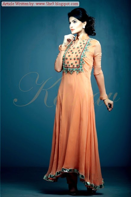 Kanav Exclusive Formal Dress Collection for Pakistani Girls