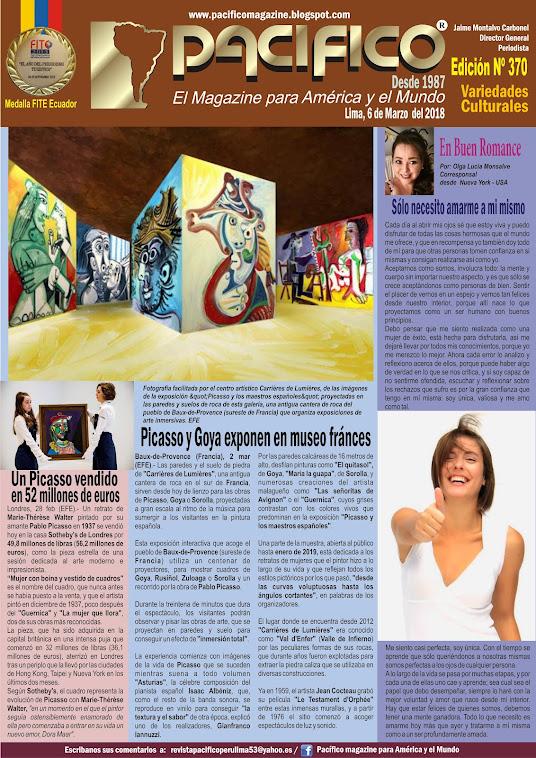 Revista Pacífico Nº 370 Variedades Culturales