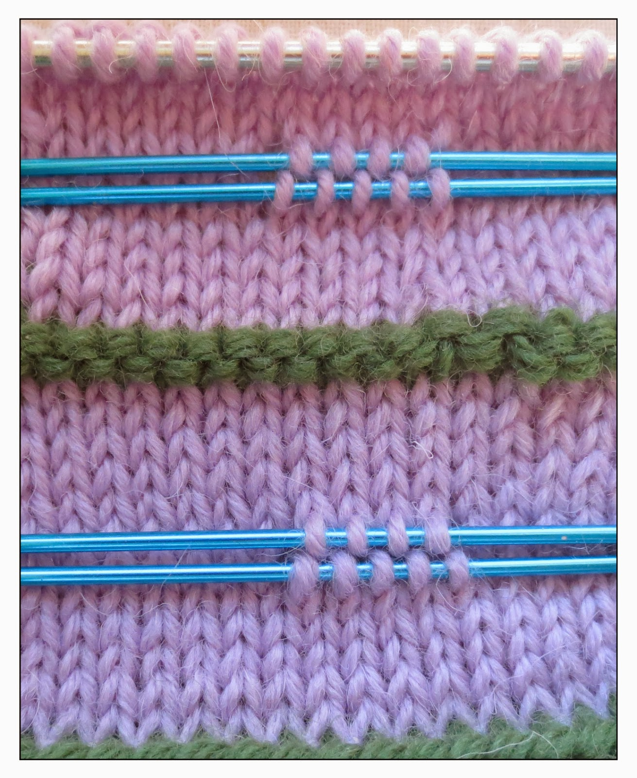How Do You Graft Knitting Stitches Together : TECHknitting: Steeks, beta version, part 3: real world tricks and tips